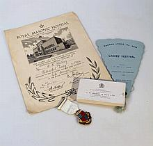 Various Masonic related collectables, comprising