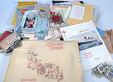 Various Cunard cruise ephemera, to include brochu