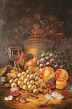 After George Lance (1802-1864). Still life, grape