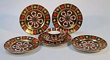 Various Royal Crown Derby Imari pattern teaware,