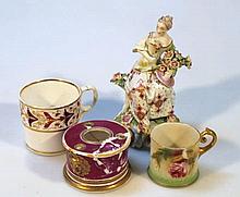 Various English and European porcelain, comprisin