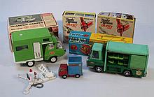 Die-cast and other toys, to include a Tonka Scamp