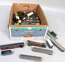 Various OO-Gauge trains and accessories, to inclu