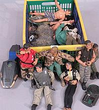 Various Action Man figures and accessories, to in