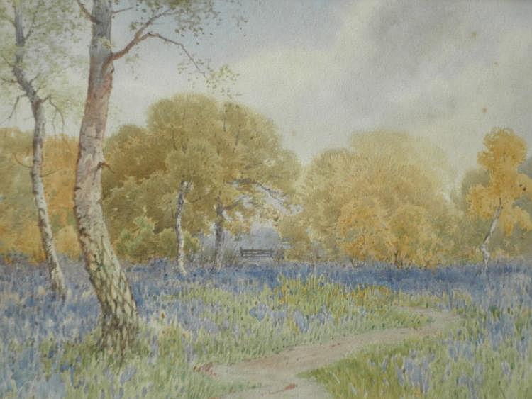 Charles Pigott (1863-1940), Woodland Landscapes,
