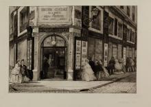 Adolphe Theodore Jules Martial Potémont, Siège de la Société des Aquafortistes. 1864