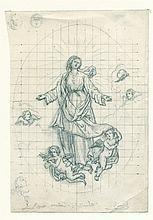 Sante Nucci, Tre scene della vita della Vergine per l'oratorio di S. Benedetto.