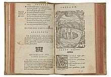 Alighieri Dante, La Divina Comedia... In Vinegia: appresso Gabriel Giolito de Ferrari, et [fratelli, 1555]. (Al colophon:) In Vinegia: appresso Gabriel Giolito de Ferrari, et fratelli, 1554.