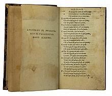 Alighieri Dante, Dante col sito, et forma dell'Inferno. (Al colophon:) [Toscolano]: P. Alex. Pag. Benacenses. F. Bena. .V. V., s.d [ma 1527-1533].