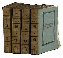 Alighieri Dante, La Divina Commedia [...] corretta spiegata e difesa dal P. Baldassarre Lombardi...Tom. I (-IV). Roma: nella stamperia de Romanis, 1815-17.