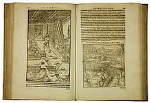Agricola Georg, Opera [...] de l'arte dei metalli partita in XII libri, ne quali si descrivano tutte le sorti, e qualità de gli uffizij, de gli strumenti, delle macchine... (Al colophon:) In Basilea: per Hieronimo Frobenio et Nicolao Episcopio, 1563.