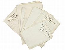Raccolta di 8 manifesti. Datati maggio-luglio 1848, Modena (uno 1858, Pavullo).