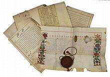 Acquisto e affitto di una vigna. Zona Moncalieri, 1492.