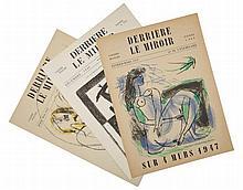 Derrière le miroir. Paris: A. Maeght, 1946-1949.
