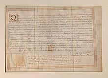 Laurea in 'Pharmaciae Galenicae'. Modena, 1781.