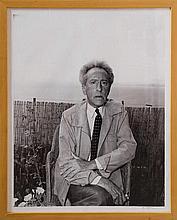 Villers André, Jean Cocteau fotografato da André Villers. 1955