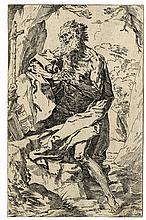 Guido Reni (1575 - 1642)[da], San Gerolamo in adorazione del crocefisso.