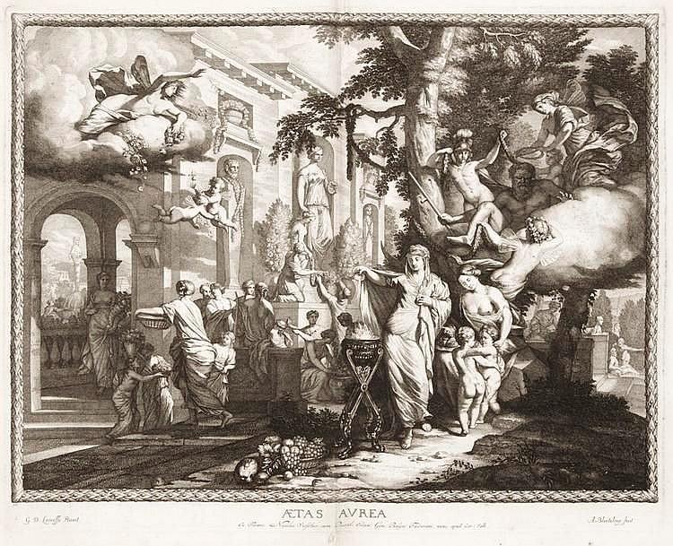 De Lairesse Gérard - Opus. Elegantissimum, Amastelaedani ipsa manu tam aerinoisum, quae inventum, et Nicolaum Visscher cum Privilegio Ordin.
