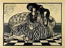 Ferruccio Pasqui, Bianco e Nero (La dama). 1914