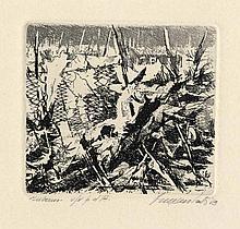 Cesco Magnolato, 3 incisioni. 1949