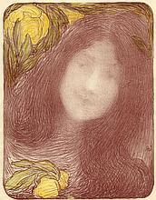 Edmond François Aman-Jean, Sous les fleurs. 1897