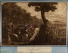 Luigi Ademollo, Scipione fatte depor le armi ai cartaginesi, intima loro di rendersi a discrizione.
