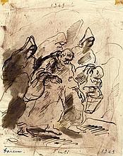 Felice Carena, Frati. 1949
