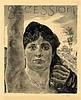 Max Klinger, Umschlagtitel 'Secession' (Copertina per 'Secession'). 1893