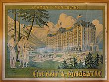 Anonimo del XX secolo, Chamonix - Mont-Blanc. Chachat's Majestic.