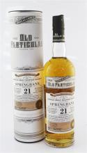 Six bottles of Springbank 21 years old,