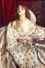 § Frank Cadogan Cowper (1877-1958), 'The Young Duchess', watercolour