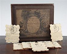A George III jigsaw 'Dissected Tables of Roman History Chronologically Arranged', 8 x 6in.