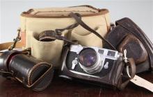 A Leica M3 range finder camera, no. 998724,