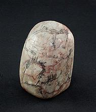 A Chinese soapstone scholar's seal, 7cm.