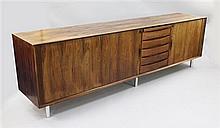 Arne Vodder for Sibast Furniture. A large Danish design sideboard, W.8ft 2in.