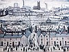 Lawrence Stephen Lowry (1887-1976) 'Britain at Play', 17.5 x 23.5in., L.S. Lowry, £120