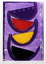 Sir Terry Frost (1915-2003) Tolcarne Rhythm, 1997, 25 x 18.5in.