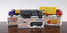 A Dinky Supertoys 923 Big Bedford van with Heinz decal,