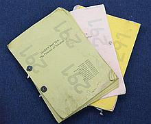 A collection scripts and other ephemera relating to the actor Jimmy Gardner,