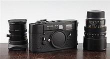 A Leica M5, black, 1290249, etc.