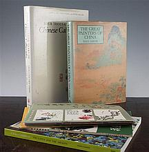 Three books and ten booklets on Chinese Painting, Ornament and Calligraphy,