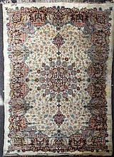 A mid 20th century Kurdistan carpet, 12ft by 8ft 5in.