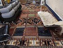A large Moroccan Berber hand-knotted wool carpet, 16ft 10in by 9ft 10in.