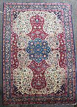 A Tabriz carpet, 13ft 2in by 9ft 4in.
