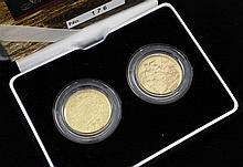 A cased 2004 Royal Mint The Douro Sovereign Set,