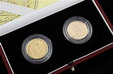 A cased Royal Mint 2002 Jubilee Shield Sovereign Set,