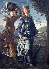 After Sandro Botticelli 'The Return of Judith to Bethulia', 10.5 x 7.75in.