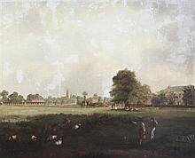 J* Spencer (fl.1812-1822) Ham Common, 25 x 30in.