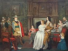 Charles Rossiter (1827-1890) 'The Arrest', 28 x 36in.