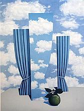 After René Magritte (1898-1967) Le Beau Monde, (from La Philosophie et la Peinture de Rene Magritte), 1979, overall 28.75 x 20.75in.